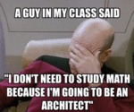 A Guy In My Class Said...