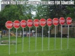 When You Start Catching Feelings...