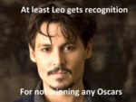 At Least Leo Gets Recognition...