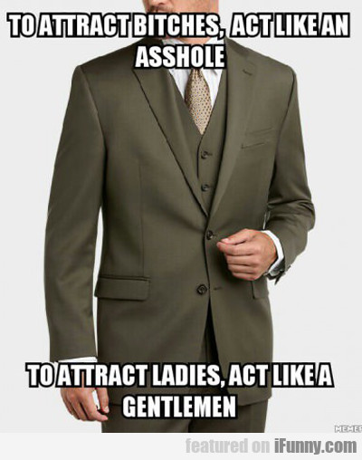 To Attract Bitches...