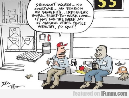 Stagnant Wages... No Overtime
