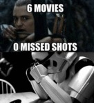 6 Movies, 0 Missed Shots...