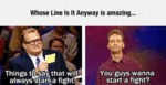 Whose Line Is It Anyway Is Amazing...