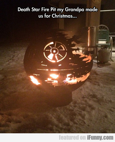Death Star Fire Pit...