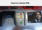 Found On A German Atm...