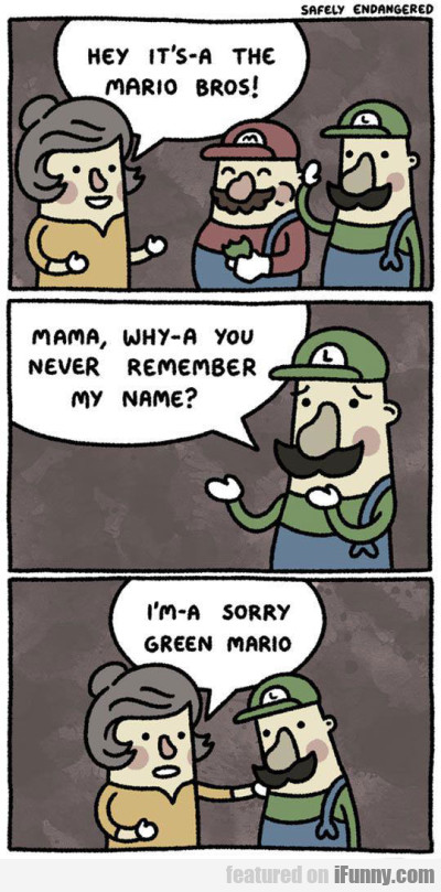 Hey It's A The Mario Bros...