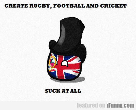 Create Rugby Football And Cricket...