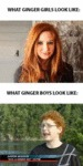 What Ginger Girls Look Like...