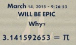March 14 2015 Will Be Epic...