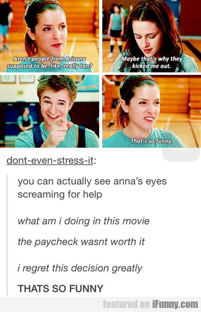 You Can Actually See Anna's Eye Screaming For Help