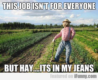 This Job Isn't For Everyone, But Hay...
