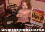 Every Kid Goes Through A Kiss Phase