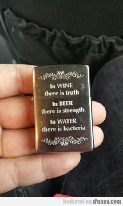 In Wine There Is Truth...
