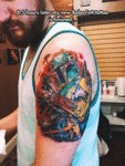 8.5 Hours Later My New Boba Fett Tattoo Is...