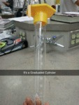 It's A Graduated Cylinder...