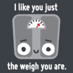 I Like You Just Weight You Are.