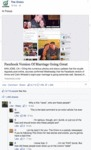 In Focus Facebook Version Of Marriage