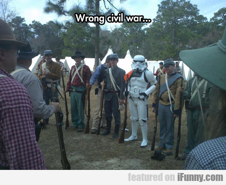 wrong civil war...