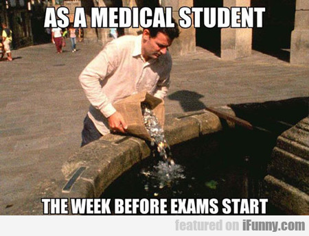 As A Medical Student...