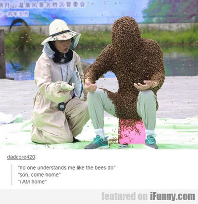 no one understands me like the bees...