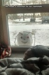 We Made A Snowman For Our Roommate...