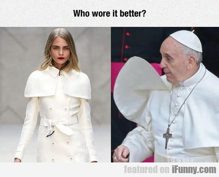 Who Wore It Better...