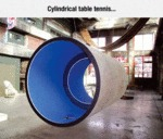 Cylindrical Table Tennis...