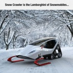 Snow Crawler Is The Lamborghini Of Snowmobiles...