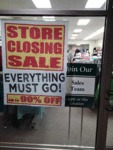 Store Closing Sale...