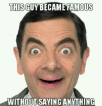 This Guy Became Famous...