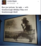 Bon Jovi Picture For Sale
