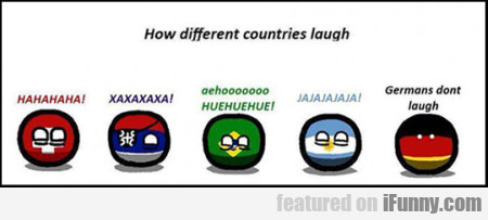 How Different Countries Laugh