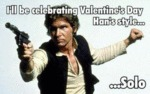 I'll Be Celebrating Valentine's Day...