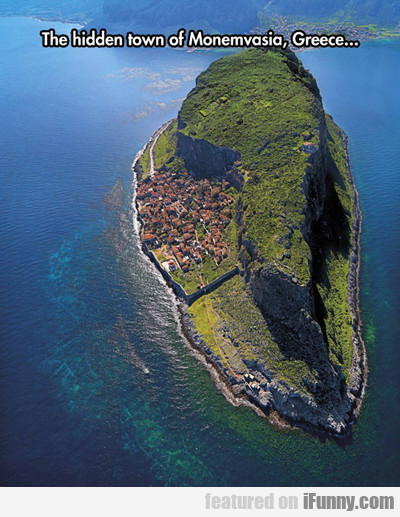 The Hidden Town Of Monemvasia...