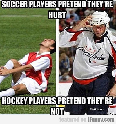 Soccer Players Pretend They're Hurt...