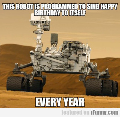 This Robot Is Trained To Sing Itself Happy...