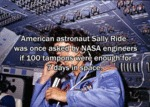 American Astronaut Sally Ride Was Once...