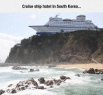 Cruise Ship Hotel In South Korea...