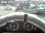 How To Keep Calm In Traffic Jams...