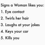 Signs A Woman Likes You.