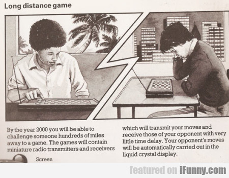 Long Distance Game