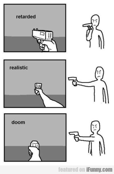 Retarded Realistic Doom