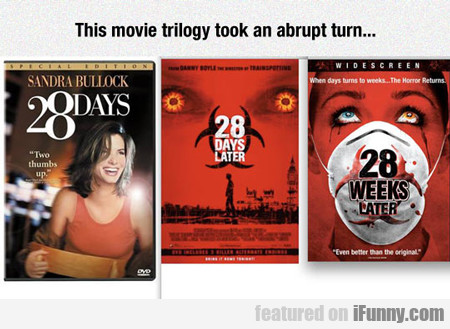 This Movie Trilogy Took An Abrupt Turn...
