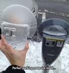 Perfect Parking Meter Ice Mold...