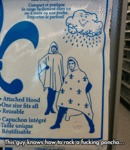 This Guy Knows How To Rock A Poncho...