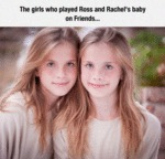 The Girls Who Played Ross And Rachel's Baby...