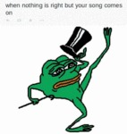 When Nothing Is Right But Your Song Comes On