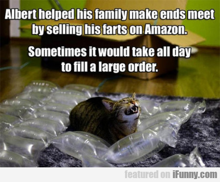 Albert Helped His Familiy Make Ends Meet...