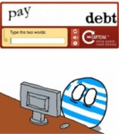 Type The Two Words - Pay Debt...