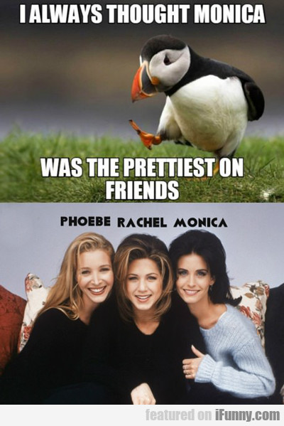 I Always Thought Monica Was The Hottest...